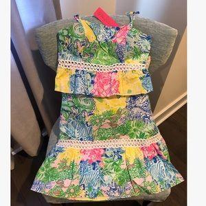 Lilly Pulitzer 2 piece skirt set